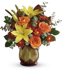 Teleflora's Citrus Harvest Bouquet from Victor Mathis Florist in Louisville, KY