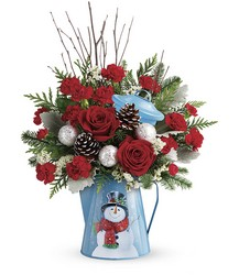 Teleflora's Snowy Daydreams Bouquet from Victor Mathis Florist in Louisville, KY