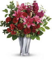 Teleflora's Sterling Love Bouquet from Victor Mathis Florist in Louisville, KY