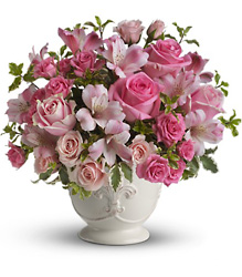 Teleflora's Pink Potpourri Bouquet from Victor Mathis Florist in Louisville, KY