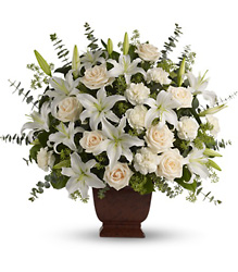 Teleflora's Loving Lilies and Roses Bouquet from Victor Mathis Florist in Louisville, KY