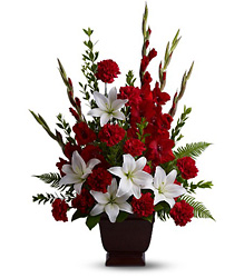 Teleflora's Tender Tribute from Victor Mathis Florist in Louisville, KY