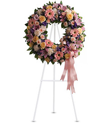 Graceful Wreath from Victor Mathis Florist in Louisville, KY