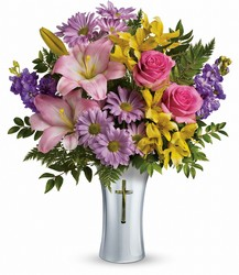 Teleflora's Bright Life Bouquet from Victor Mathis Florist in Louisville, KY