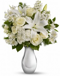 Faith Hill - Shimmering White Bouquet from Victor Mathis Florist in Louisville, KY