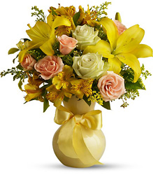 Teleflora's Sunny Smiles from Victor Mathis Florist in Louisville, KY