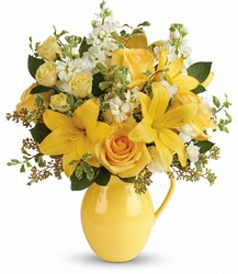 Teleflora's Sunny Outlook Bouquet from Victor Mathis Florist in Louisville, KY