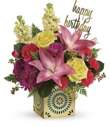 Teleflora's Blooming Birthday Bouquet from Victor Mathis Florist in Louisville, KY