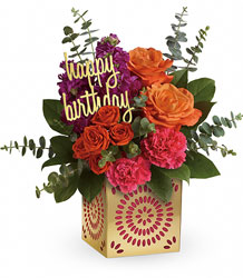 Teleflora's Birthday Sparkle Bouquet from Victor Mathis Florist in Louisville, KY