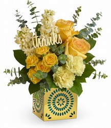 Teleflora's Shimmer Of Thanks Bouquet from Victor Mathis Florist in Louisville, KY