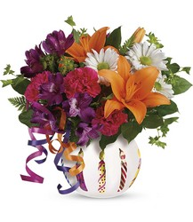Teleflora's Party Starter Bouquet from Victor Mathis Florist in Louisville, KY