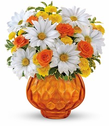 Teleflora's Rise and Sunshine from Victor Mathis Florist in Louisville, KY