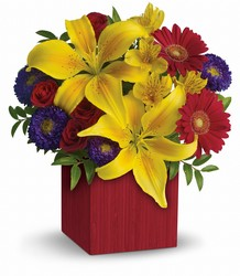 Teleflora's Summer Brights from Victor Mathis Florist in Louisville, KY