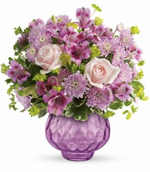 Teleflora's Lavender Chiffon Bouquet from Victor Mathis Florist in Louisville, KY