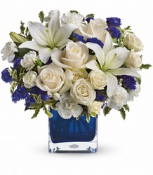 Teleflora's Sapphire Skies Bouquet from Victor Mathis Florist in Louisville, KY