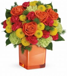 Teleflora's Citrus Smiles Bouquet from Victor Mathis Florist in Louisville, KY