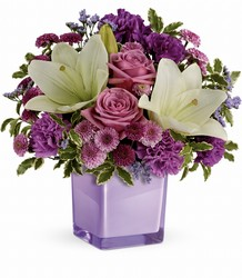Teleflora's Pleasing Purple Bouquet from Victor Mathis Florist in Louisville, KY
