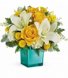 Teleflora's Golden Laughter Bouquet from Victor Mathis Florist in Louisville, KY