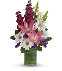 Teleflora's Playful Daisy Bouquet from Victor Mathis Florist in Louisville, KY