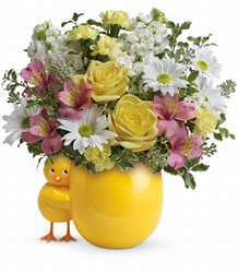Teleflora's Sweet Peep Bouquet - Baby Pink from Victor Mathis Florist in Louisville, KY