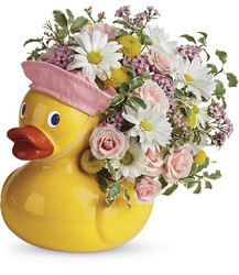 Teleflora's Sweet Little Ducky Bouquet from Victor Mathis Florist in Louisville, KY