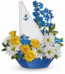 Ahoy It's A Boy Bouquet by Teleflora from Victor Mathis Florist in Louisville, KY