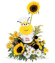 Bee Well Bouquet from Victor Mathis Florist in Louisville, KY